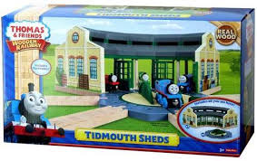 thomas friends wooden railway tidmouth sheds y4367 toys