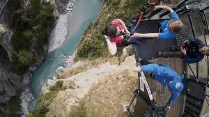 A Group Of Friends Went Rope Swinging In Queenstown New Zealand At The Worlds Highest Cliff Jump With GoPro Cameras Coming Along For Ride