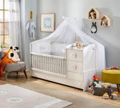 verwandelbares bett baby cotton 75x115cm