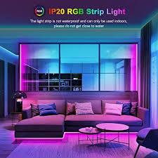 led lichtband 10m maxcio smart rgb led streifen mit fernbedienung led band lichterkette kompatibel mit home smart