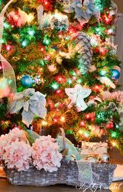 Itwinkle Christmas Tree by Traditional Christmas Tree With Colored Lights Slightly Coastal