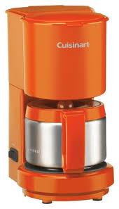 Best Buy Cuisinart 4Cup Coffeemaker Orange DCC450OR