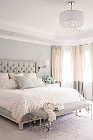 Paint Color For Bedroom by Gray White And Tan Bedroom Great Two Tone Curtains And