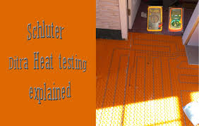 Easy Heat Warm Tiles Thermostat Problems by Ditra Heat Wires Test Explained And How To Youtube