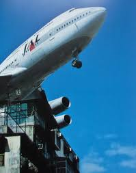 Kansai Airport Sinking 2015 by Kai Tak A Japan Air Lines Boeing 747 400 Headed For The Old