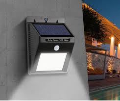 16 LED Solar Light Security Motion Sensor Light Outdoor