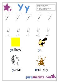 Preschool Letter Worksheets