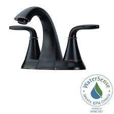 pfister catalina 4 in centerset 2 handle bathroom faucet in