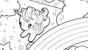 Fairy Unicorn Coloring Pages Color Pictures Cute Of Unicorns For Adults Co