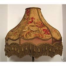 Ebay Antique Lamps Vintage by Vintage Victorian Floor Lamp Shade Sage Rose Mocha Ebay