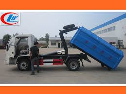 China 4X2 Foton Forland Mini Small Roll On Roll Off Garbage Truck ...