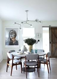Best Dining Room Lighting Ideas On Light Modern With Round