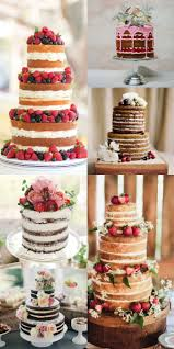 A New Trend Is Unfrosted Cakes What Do My Followers Think Weddingcake