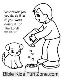 Colossians Coloring Page For Children