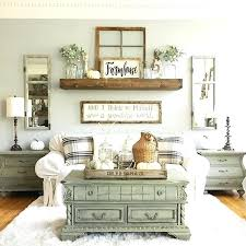 Wall Accents For Living Room Best Farmhouse Decor Ideas On Rustic