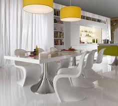 White Modern Dining Room Sets
