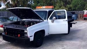 Big Block Chevy Square Body Wrecker Tow Truck For Sale. Budget ...