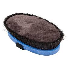 Shedding Blade For Horses by Haas Diva Lambswool Brush Horse Sports