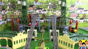 Trackmaster Tidmouth Sheds Youtube by Biggest Thomas And Friends The Great Race 122 Trackmaster Hiro