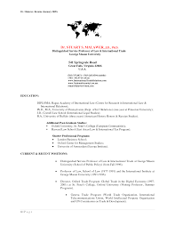 Brilliant Ideas Of International Resume Foreign Service Officer Relations With