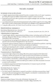 29 Sample Resume For Executive Assistant To Ceo