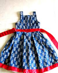how to cut and sew a denim summer frock in easy way frock