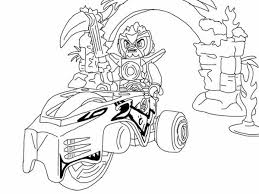 Lego Chima Laval Jump Into His Vehicle Coloring Pages Batch