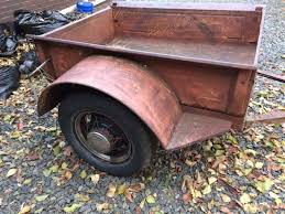 1929 Ford Model A Pickup Bed Trailer for sale photos technical
