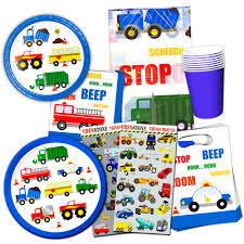100 Cars And Trucks And Things That Go Amazoncom And Party Supplies Ultimate Set Birthday