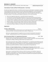 Government Job Resume Format
