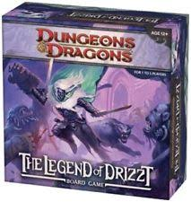 Dungeons Dragons The Legend Of Drizzt Fantasy Board Game WOC35594