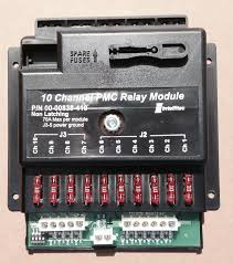 100 Pmc 10 Relay Output Module 12V NonLatching Relay 00008384