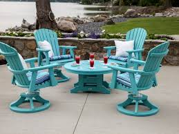 Smith And Hawkins Patio Furniture Cushions by Patio 61 Blue Lowes Patio Chairs With Cushions And Round