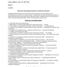 daycare resume objective resume objective exles for daycare