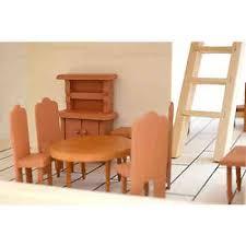 puppenhaus möbel set wohnzimmer puppenmöbel holz zubehör eyepower