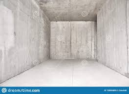 100 Concret Walls Abstract Modern Interior Empty Room With Uncolored E