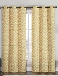 Yellow And White Curtains Etsy by Turquoise Yellow Grey Brown And White Medallion Curtain Panel