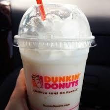 Dunkin Donuts Vanilla Bean Coolatta With Whipped Cream I Always Put Caramel In Mine