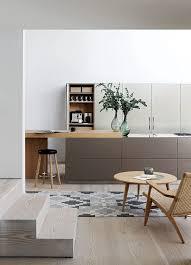 Step Down Living Interior Design KitchenKitchen