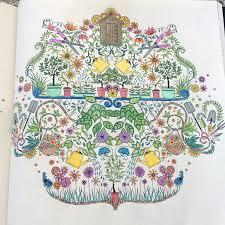 The Secret Garden And Joy Of Colouring Books