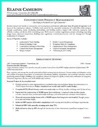 Resume Templates Construction Project Fantastic Manager Doc Electrical Sample Assistant Large
