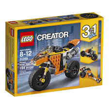 LEGO Creator Sunset Street Bike (31059) | Walmart Canada Lego Creator Mini Fire Truck 6911 Brick Radar Lego Highway Speedster 31006 31075 Outback Adventures De Toyz Shop Vehicles Turbo Quad 3in1 Buy Online In South Rocket Rally Car 31074 Cwjoost Alrnate Model Of Set High Flickr 6753 Transport Itructions Diy Book 1 Youtube Pictures Expert Fairground Mixer Walmartcom Cstruction Hauler 31005 At Low Prices Creator 31022 Toys Planet 2013 Brickset Guide And Database