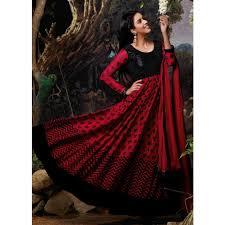 stylish designer floor length anarkali dresses for wedding