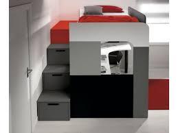 lit mezzanine 1 place bureau integre lit lit mezzanine 1 place fantastique lit mezzanine 1 place
