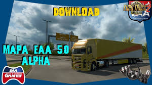 EAA MAP NORMAL 5.0.5 ALPHA [1.32.x] | ETS2 Mods | Euro Truck ...