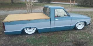 100 Bagged Truck 1980 Ford Courier Mini Rat Rod 23 Bagged For Sale In