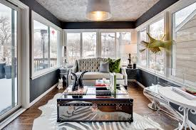 sunroom designs sunroom eclectic with black paint black walls