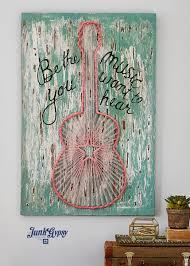 Gypsy Home Decor Ideas by Junkgypsy4pbteen Junk Gypsy Be The Music You Hear Wall Art