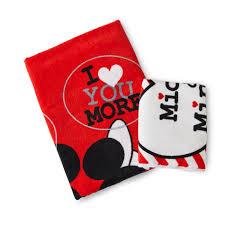 Kmart Bathroom Rug Sets by Disney Mickey U0026 Minnie Mouse Bath Towel U0026 Washcloth