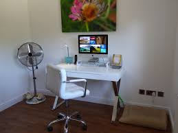 Desk Table White Chair Home Office Property Living Room Furniture Apartment Modern Interior Design